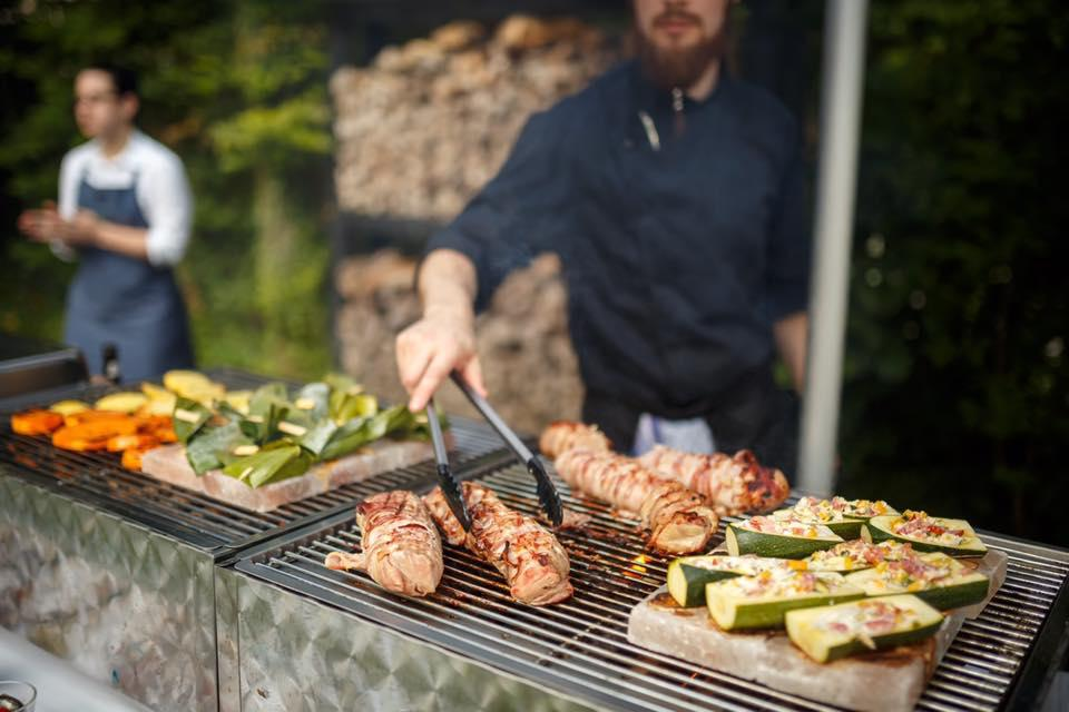Catering des Restaurant Stresa in BBQ-Form